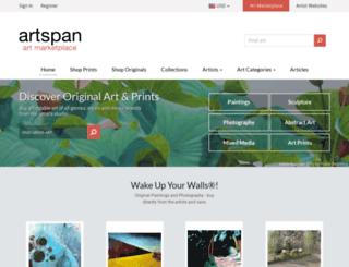 kimbi.artspan.com screenshot
