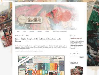 kimerickreations.blogspot.com screenshot