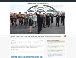 kimjongun.org screenshot