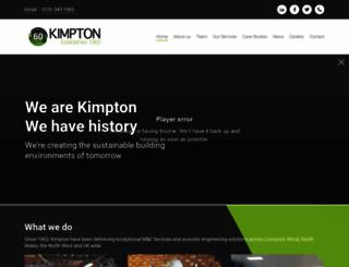kimpton.ltd.uk screenshot