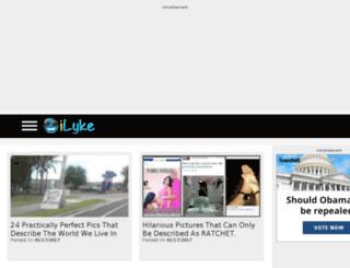 kimsfunpage.humorlicious.org screenshot
