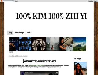 kimzhiyi.blogspot.com screenshot