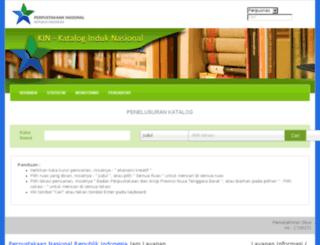 kin.pnri.go.id screenshot