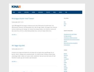kinas.se screenshot