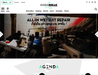 kindabreak.com screenshot