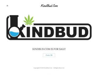 kindbud.com screenshot