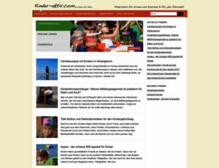 kinder-aktiv.com screenshot