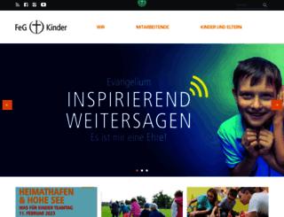 kinder.feg.de screenshot