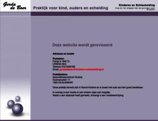 kinderen-echtscheiding.nl screenshot