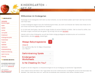 kindergarten-net.de screenshot