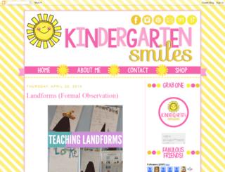 kindergartensmiles.blogspot.fr screenshot