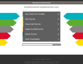 kinderkueche-spielkueche.com screenshot