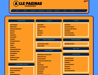 kinderliedjes.allepaginas.nl screenshot