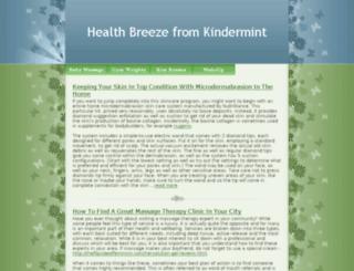 kindermint.com screenshot