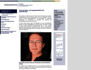 kinderpsychiatrie-berlin.org screenshot