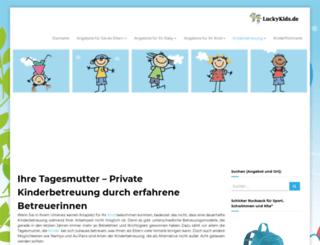 kinderurlaub-reisen.de screenshot