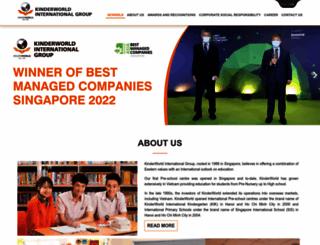 kinderworld.net screenshot