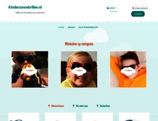 kinderzonnebrillen.nl screenshot