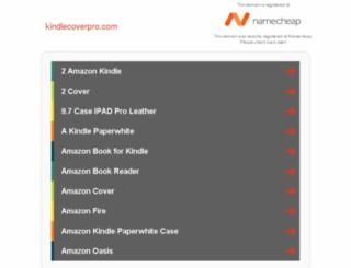 kindlecoverpro.com screenshot