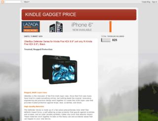 kindlegadgetprice.blogspot.com screenshot