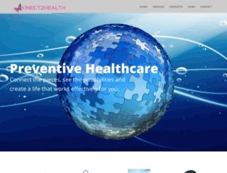 kinect2health.com screenshot