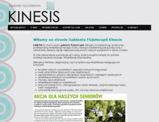 kinesis.czest.pl screenshot