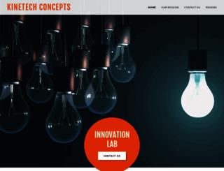 kinetechconcepts.com screenshot