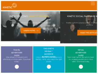 kinetic-social.com screenshot