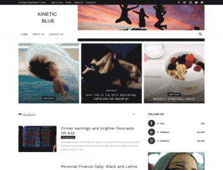 kineticblue.com.au screenshot