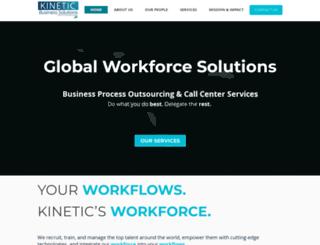 kineticbusinesssolutions.com screenshot