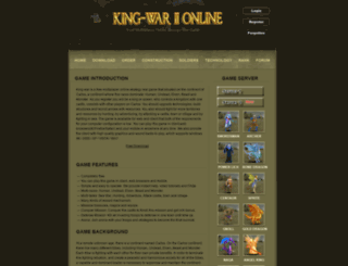king-war.com screenshot