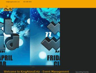 kingatossentz.com screenshot