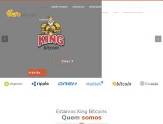 kingbitcoins.com screenshot