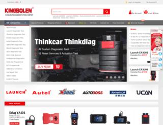kingbolen.com screenshot