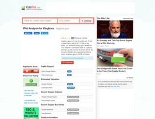 kingboss.guru.cutestat.com screenshot