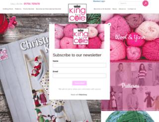 kingcole.co.uk screenshot