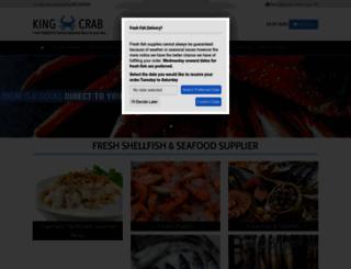 kingcrab.co.uk screenshot