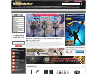 kingdetector.com screenshot