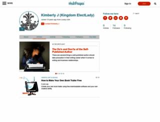 kingdomelectlady.hubpages.com screenshot