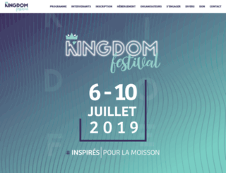 kingdomfestival.ch screenshot