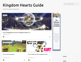 kingdomheartsguidehq.blogspot.com screenshot