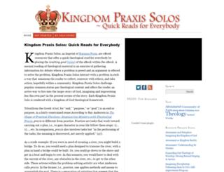 kingdompraxis.com screenshot
