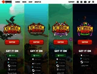 kingdomrush.com screenshot