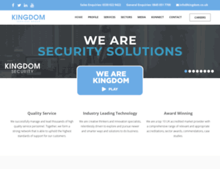kingdomsecurity.co.uk screenshot