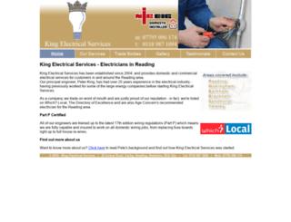kingelectricalservices.co.uk screenshot