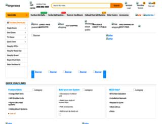 kingersons.com screenshot