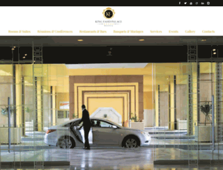 kingfahdpalacehotels.com screenshot