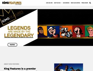 kingfeatures.com screenshot