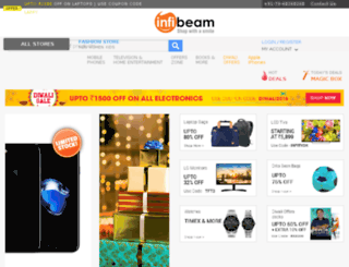 kingfisher.infibeam.com screenshot