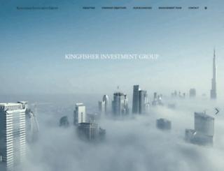 kingfisherig.com screenshot